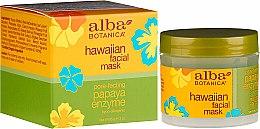 Düfte, Parfümerie und Kosmetik Peelingmaske für das Gesicht mit Ananas-Enzym - Alba Botanica Natural Hawaiian Facial Scrub Pore Purifying Pineapple Enzyme