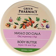 Düfte, Parfümerie und Kosmetik Cremige Körperbutter mit Arganöl und Feigen - Green Pharmacy