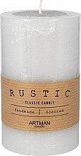Düfte, Parfümerie und Kosmetik Handgemachte Duftkerze grau - Artman Rustic Classic Candle Ø7xH11.5cm