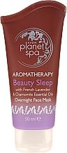 Düfte, Parfümerie und Kosmetik Gesichtsmaske für die Nacht mit Lavendel und Kamille - Avon Planet Spa Aromatherapy Beauty Sleep Overnight Face Mask