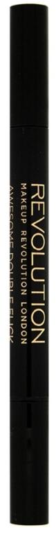 Eyeliner - Makeup Revolution Awesome Dual Eyeliner Kohl & Flick — Bild N3