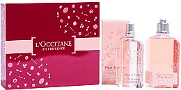 Düfte, Parfümerie und Kosmetik L'Occitane Cherry Blossom - Duftset (Eau de Toilette 75ml + Duschgel 250ml)