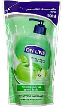 Düfte, Parfümerie und Kosmetik Flüssigseife - On Line Green Apple Liquid Soap (Refill)