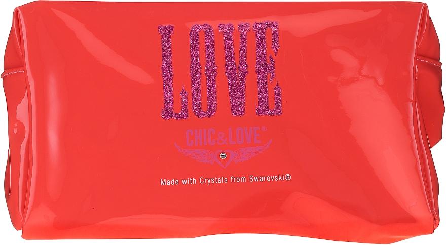 Chic&Love Love - Duftset (Eau de Toilette 100ml + Kosmetiktasche) — Bild N3
