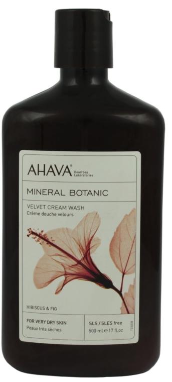 Duschcreme mit Hibiskus und Feigen für sehr trockene Haut - Ahava Mineral Botanic Velvet Cream Wash Hibiscus & Fig — Bild N1