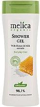 Düfte, Parfümerie und Kosmetik Duschgel mit Honig und Milch - Melica Organic Shower Gel