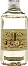 Düfte, Parfümerie und Kosmetik Nachfüller für Raumerfrischer Weißer Moschus und Talk - Chic Parfum Refill Muschio Bianco e Talco
