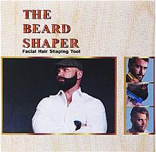 Düfte, Parfümerie und Kosmetik Bartschablone mit integriertem Bartkamm schwarz - Man'S Beard