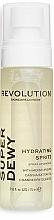 Düfte, Parfümerie und Kosmetik Feuchtigkeitsspendendes Gesichtsspray mit Steviaextrakt und Cranberry-Samenöl - Revolution Skincare Superdewy Moisturizing Spray