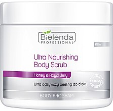 Düfte, Parfümerie und Kosmetik Intensiv pflegendes Körperpeeling - Bielenda Professional Body Program Ultra Nourishing Body Scrub