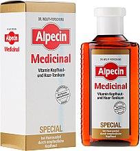 Düfte, Parfümerie und Kosmetik Haartonikum für empfindliche Kopfhaut für Männer - Alpecin Medicinal Special Vitamin Scalp And Hair Tonic