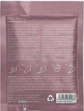 Anti-Aging Fußsocken mit Meereskollagen, Sheabutter und Pfefferminze - BeautyPro Foot Therapy Collagen Infused Bootie — Bild N2