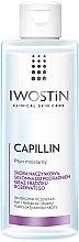 Düfte, Parfümerie und Kosmetik Mizellenwasser zur Verringerung der Kapillaren - Iwostin Capillin Micellar Cleansing Liquid Capillaries