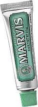 Düfte, Parfümerie und Kosmetik Zahnpasta (Mini) - Marvis Classic Strong Mint