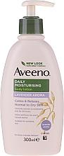 Düfte, Parfümerie und Kosmetik Feuchtigkeitsspendende Körperlotion für trockene Haut mit Lavendel - Aveeno Daily Moisturising Lotion with Lavender