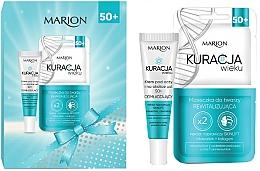 Düfte, Parfümerie und Kosmetik Gesichtspflegeset - Marion Age Treatment 50+ (Gesichtsmaske 2x8ml + Augencreme 15ml)