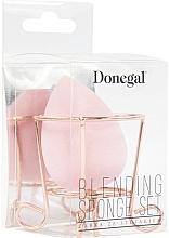 Düfte, Parfümerie und Kosmetik Make-up Schwamm mit Ständer rosa - Donegal