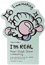 Düfte, Parfümerie und Kosmetik Aufhellende Tuchmaske für das Gesicht mit Perlenextrakt - Tony Moly I Am Pearl Sheet Mask