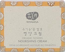 Düfte, Parfümerie und Kosmetik Nährende Gesichtscreme mit mit fermentierten Pflanzenextrakten für mehr Hautelastizität - Whamisa Organic Flowers Nourishing Cream