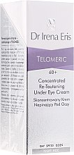 Düfte, Parfümerie und Kosmetik Creme-Konzentrat für die Augenpartie mit Liftingeffekt 60+ - Dr Irena Eris Telomeric Concentrated Re-Tautening Eye Cream SPF20