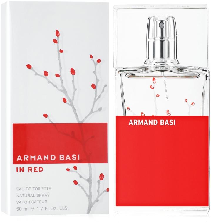 Armand Basi In Red - Eau de Toilette  — Bild N2