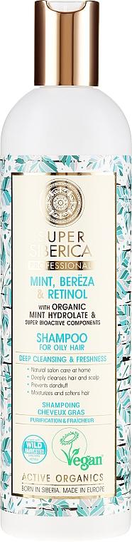 Tiefenreinigendes und erfrischendes Shampoo für fettiges Haar - Natura Siberica Super Siberica Professional Shampoo Deep Cleanising & Freshness — Bild N1