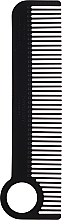 Düfte, Parfümerie und Kosmetik Haarkamm schwarz - Chicago Comb Co CHICA-1-CF Model № 1 Carbon Fiber