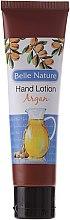 Beruhigende Handcreme mit Arganöl - Belle Nature Hand Lotion Argan — Bild N1