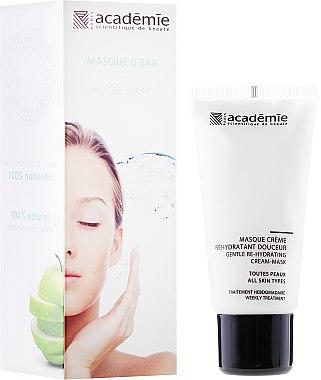 Milde Feuchtigkeitsspendende Crememaske für Gesicht - Academie Gentle Re-Hydrating Cream-Mask — Bild N1
