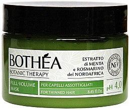Düfte, Parfümerie und Kosmetik Haarmaske für dünnes Haar - Bothea Botanic Therapy Full-Volume Mask pH 4.0
