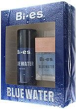 Düfte, Parfümerie und Kosmetik Bi-Es Blue Water Men - Duftset (Eau de Toilette 100ml + Deodorant 150ml)