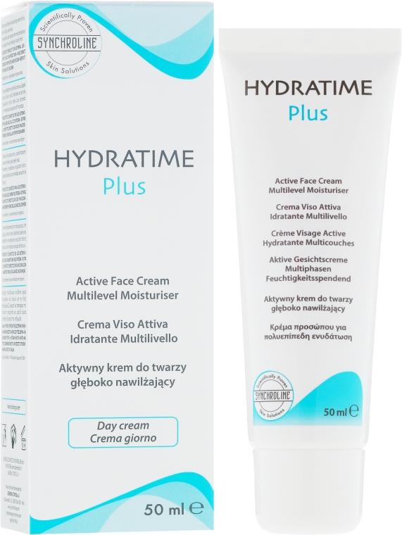 Aktive Gesichtscreme - Synchroline Hydratime Plus Day Face Cream — Bild N1