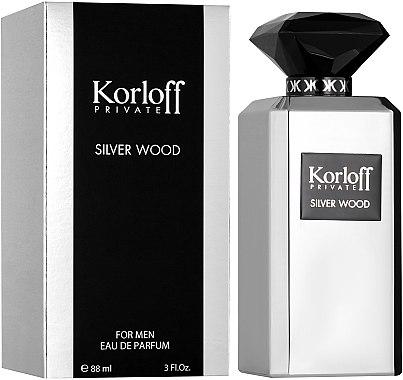 Korloff Paris Silver Wood - Eau de Parfum — Bild N1