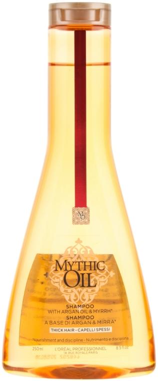 Shampoo für dickes Haar mit Arganöl und Myrrhe - L'Oreal Professionnel Mythic Oil Shampoo Thick Hair — Bild N1