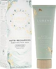 Düfte, Parfümerie und Kosmetik Regenerierende Torfmaske - Lumene Harmonia Nutri-Recharging Purifying Peat Mask