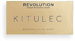 Make-up Set (Lidschattenpalette 2x7.8g) - Makeup Revolution Kitulec #BlendKitulca Shadow Palette — Bild N6
