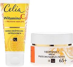 Gesichtspflegeset - Celia Witamina C 65+ (Gesichtsmaske 60ml + Gesichtscreme 50ml) — Bild N2