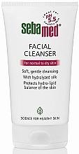 Düfte, Parfümerie und Kosmetik Gesichtsreinigungsgel für normale bis trockene Haut - Sebamed Facial Cleanser For Normal & Dry Skin