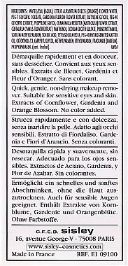 Make-up-Entferner für Augen und Lippen mit botanischen Extrakten - Sisley Gentle Eye And Lip Make-Up Remover With Botanical Extracts — Bild N3