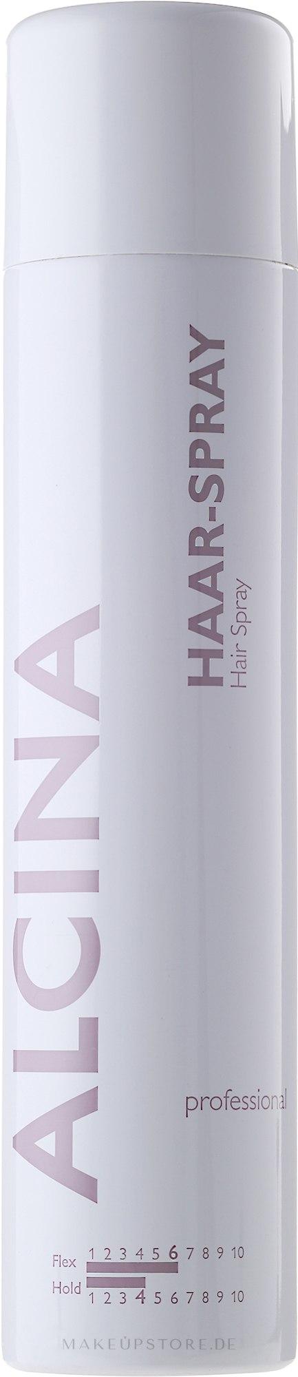 Haarlack Starker Halt - Alcina Professional Hair-Spray Hold 4 — Bild 500 ml