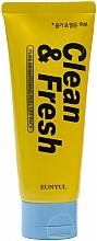 Düfte, Parfümerie und Kosmetik Aufhellende Peeling-Gesichtsmaske - Eunyul Clean & Fresh Pure Brightening Peel Off Pack