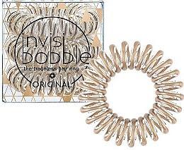 """Düfte, Parfümerie und Kosmetik Haargummis """"Bronze Me Pretty"""" 3 St. - Invisibobble Original Bronze Me Pretty"""