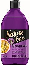 Düfte, Parfümerie und Kosmetik Duschgel mit Passionsfruchtöl - Nature Box Passion Fruit oil Shower Gel