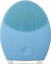 Düfte, Parfümerie und Kosmetik 2in1 Kompaktes Anti-Aging Massagegerät und reinigende Gesichtsbürste für Mischhaut - Foreo Luna 2 Combination Skin