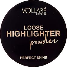 Düfte, Parfümerie und Kosmetik Loser Highlighter - Vollare Loose Highlighter Powder Perfect Shine