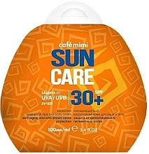 Wasserfeste Anti-Aging Sonnenschutzcreme für Körper und Gesicht gegen Pigmentflecken SPF 30+ - Cafe Mimi Sun Care — Bild N1