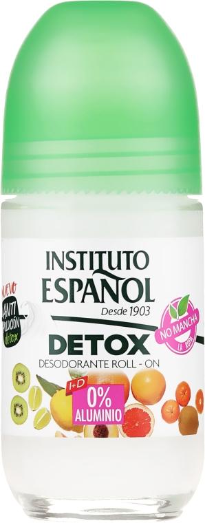 "Deo Roll-on ""Detox"" - Instituto Espanol Detox Deodorant Roll-on — Bild N1"