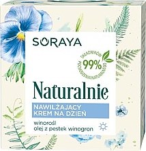 Feuchtigkeitsspendende Tagescreme - Soraya Naturalnie Day Cream — Bild N2