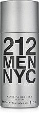 Düfte, Parfümerie und Kosmetik Carolina Herrera 212 MEN NYC - Parfümiertes Deospray