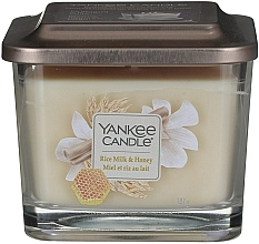 Düfte, Parfümerie und Kosmetik Duftkerze Rice Milk & Honey - Yankee Candle Elevation Rice Milk & Honey